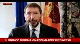 Dimissioni Marino, il videomessaggio del sindaco