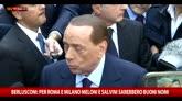 Berlusconi: per Roma e Milano serve capacità imprenditoriale