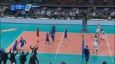 12/10/2015 - Europei volley, Francia-Italia 3-2