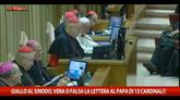 Giallo al Sinodo, la lettera al Papa da 13 cardinali