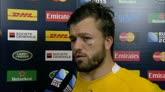 25/10/2015 - Rugby, Australia in finale: le reazioni dei protagonisti