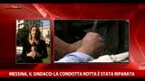30/10/2015 - Messina senz'acqua, sindaco: la condotta è stata riparata