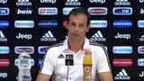 "30/10/2015 - Allegri: ""Da Evra e Buffon parole costruttive"""