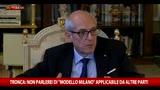31/10/2015 - Tronca: no modello Milano applicabile da altre parti