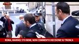 31/10/2015 - Marino: Non commento decisione su Tronca