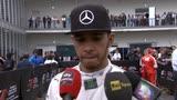 """31/10/2015 - Hamilton: """"La 50.a pole mancata? Conta vincere"""""""