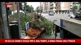 Il maltempo sferza la Sicilia, danni e disagi