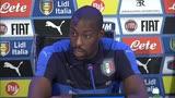 """10/11/2015 - Okaka: """"E' un'Italia sempre più forte"""""""
