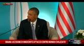 Obama: uccisione di innocenti è attacco contro civiltà