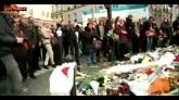 Il minuto di silenzio a Parigi