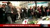 La Francia si ferma per ricordare le vittime della strage