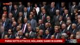 Parigi sotto attacco, Hollande: siamo in guerra