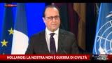 Hollande: siamo in guerra