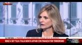 Sicurezza, intervista a Renzi