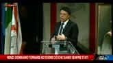 Renzi: contro terrore serve più cultura, non cediamo a paura