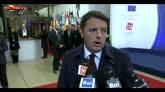 Renzi: se l'Europa si chiude in casa, vince il terrore
