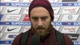 """29/11/2015 - Roma, De Rossi: """"Dobbiamo restare uniti"""""""