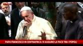 Papa Francesco in Centrafrica: vi auguro la pace tra popoli