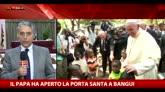 Bangui, il Papa ha aperto la Porta Santa