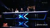 03/12/2015 - I giudici commentano l'esibizione di Giosada