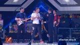 10/12/2015 - I Coldplay per la prima volta a X Factor