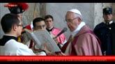 Giubileo, Papa apre Porta Santa a San Giovanni in Laterano