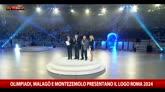Olimpiadi, presentato il logo di Roma 2024
