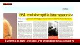 Morte Gelli, come fu scoperta la P2 nel 1981