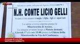 Licio Gelli, a Pistoia i funerali dell'uomo dei misteri