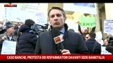 Banche, le proteste dei risparmiatori