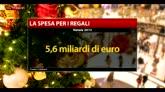 Natale, Coldiretti: spesi 5,6 miliardi di euro per i regali