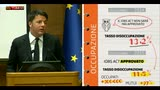 """Renzi: """"L'Italia tornerà a essere leader in Europa"""""""