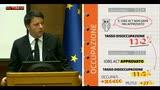 """Renzi: """"Il 2015 è stato un buon anno"""""""