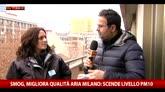 31/12/2015 - Smog, dati Arpa: a Milano sceso il pm10