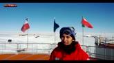 Auguri di buon anno dall'Antartide