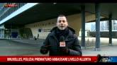 Bruxelles, polizia: prematuro abbassare livello di allerta