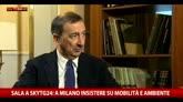 Sala a Sky TG24: a Milano insistere su mobilità e ambiente