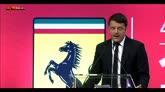 Ferrari in Borsa, Renzi: nel 2016 iniziamo a correre
