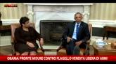 Obama: pronte misure contro flagello vendita libera di armi