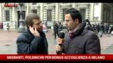 Milano, bonus per accoglienza migranti. Parla Majorino
