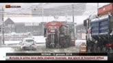 Prima neve in Bosnia