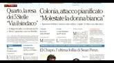 Rassegna stampa: i giornali di lunedì 11 gennaio 2016