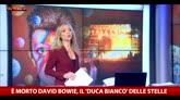 """Morte Bowie, Zanetti: """"Ha segnato la storia del rock"""""""