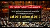 Camera, il tetto agli stipendi solo fino al 2017