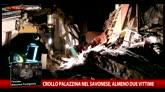 Savonese, crolla palazzina ad Arnasco: almeno tre morti