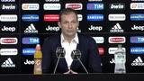 """Allegri: """"Juve favorita? Napoli un po' di più"""""""