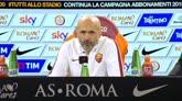 """Spalletti sul suo ritorno: """"Allenare la Roma è speciale"""""""