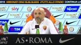 """Roma, Spalletti: """"Nessun alibi, dobbiamo vincere subito"""""""