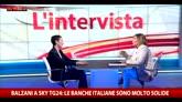Milano, Balzani a SkyTG24: con Renzi ho rapporti molto buoni