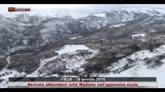 Neve sulle montagne della Sicilia